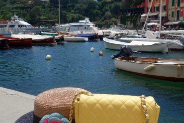 The PINK MACARON at Portofino