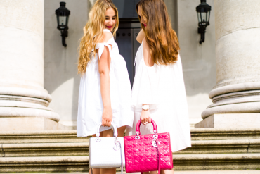 The PINK MACARON Off Shoulder