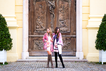 The PINK MACARON Hunting Capes