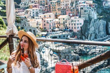 The PINK MACARON Liguria Hopping