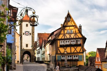 The PINK MACARON at Rothenburg