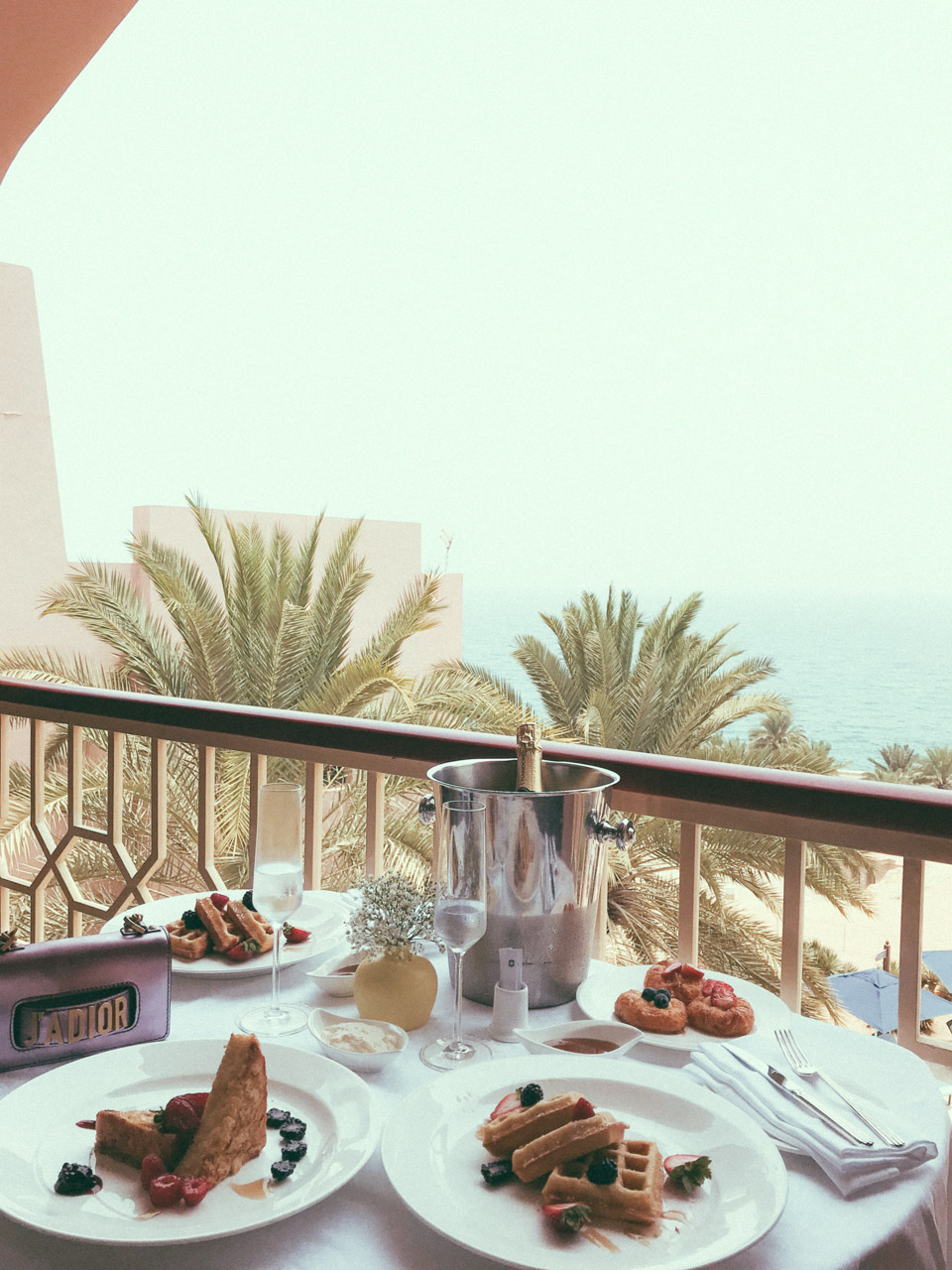 Luxury Breakfast with a view