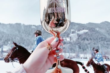 THE PINK MACARON at Snow Polo World Cup Kitzbühel